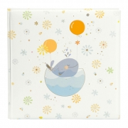 Goldbuch 24766 25x25 cm 60 psl. Little whale blue