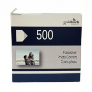 Goldbuch skaidrūs kampučiai nuotraukoms 500 vnt.