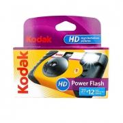 Vienkartinis fotoaparatas KODAK POWER FLASH HD 27+12 su blykste