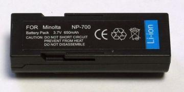 Minolta, baterija NP-700, SLB-0637, DB-L30, D-LI72